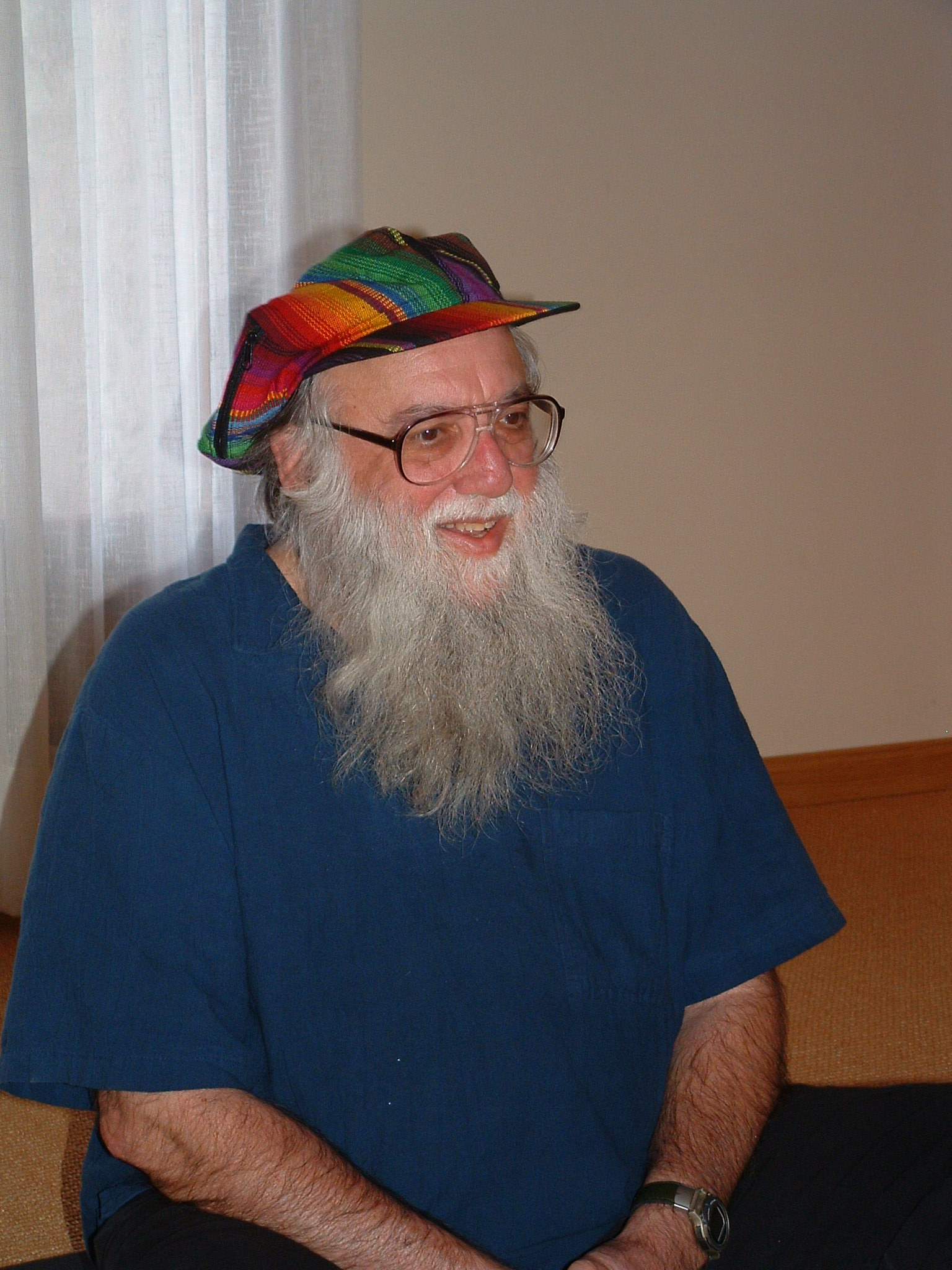 Photo of Rabbi Arthur Waskow, 2013