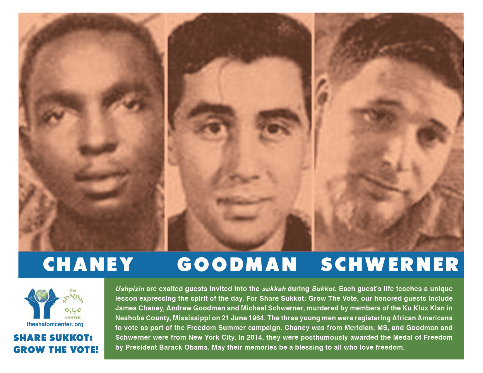 Ushpizin 1 - Goodman, Chaney, Schwerner