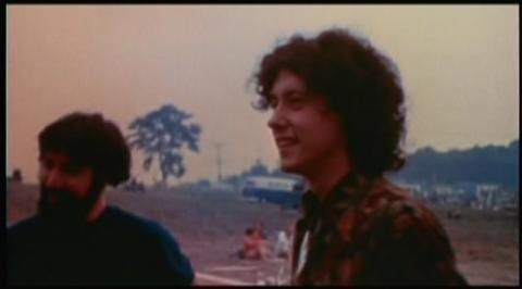 On the right, Arlo Guthrie