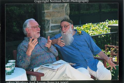Howard (L) and Arthur Waskow