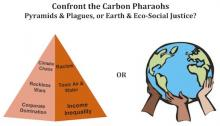 Carbon Pharaohs, Pyramids, & Plagues -- OR Earth & Eco-Social Justice