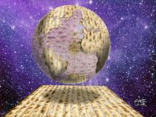 By Avi Katz: The Matzah Globe
